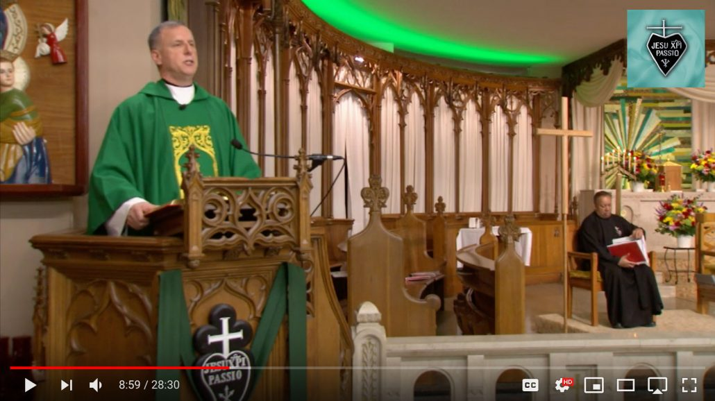 Sunday Mass by the Passionists