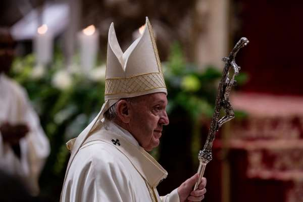 """personal conversion needed to confront satans lies pope says in lent message Vatican City, Feb 24, 2020 / 03:34 am (CNA).- There is an urgent need for personal conversion, without which the temptations of Satan, and the presence of evil, create a """"hell here on earth,"""" Pope Francis said Monday in his 2020 Lenten message."""