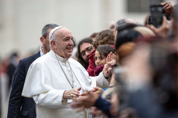 """slight sickness keeps pope francis close to home vatican says Vatican City, Feb 27, 2020 / 07:36 am (CNA).- Pope Francis did not attend a scheduled meeting with Rome priests Thursday morning due to a """"slight indisposition,"""" a Vatican spokesman said."""
