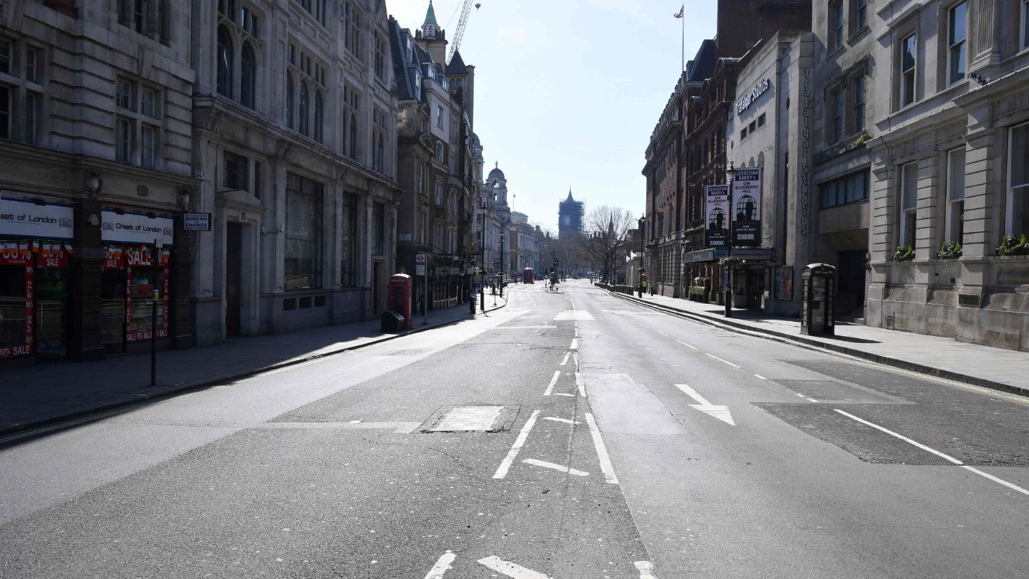 WATCH   Deserted streets, closed shops: How country looks ...   Lockdown