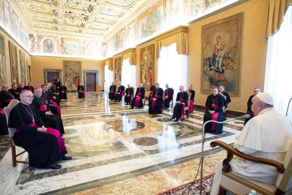 french bishop tests positive for coronavirus after vatican visit Vatican City, Mar 16, 2020 / 08:05 am (CNA).- A French bishop who visited the Vatican last week has tested positive for coronavirus, his diocese announced Monday.