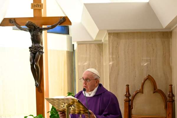 pope francis trust in the mercy and justice of god Vatican City, Mar 30, 2020 / 04:30 am (CNA).- Pope Francis said Monday that the Church can trust in the mercy and justice of God.