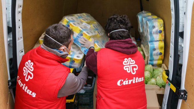 caritas urges solidarity and fraternity in the battle against covid 19 By Robin Gomes