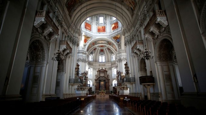 churches in austria to reopen from 15 may By Fr. Benedict Mayaki, SJ