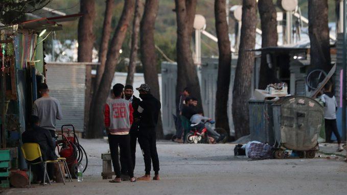 covid 19 greece quarantines migrant camp By Lydia O'Kane