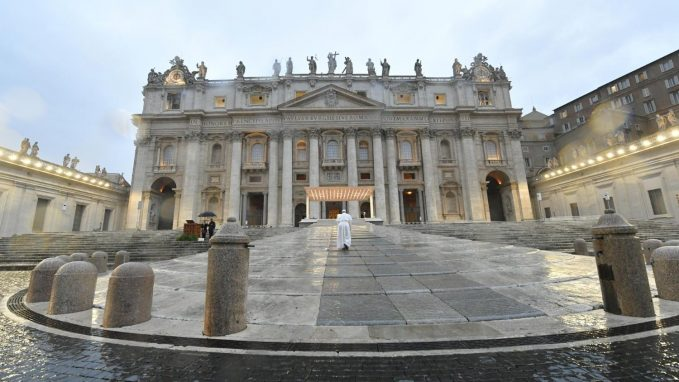 empty piazzas filled spaces By Father Federico Lombardi