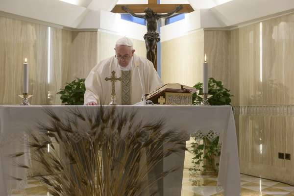 joy is more than emotion it is a gift of the holy spirit pope francis says Vatican City, Apr 16, 2020 / 03:12 am (CNA).- Joy is a grace and a gift of the Holy Spirit, not just positive emotions or feeling cheerful, Pope Francis said at Mass at the Vatican Thursday.
