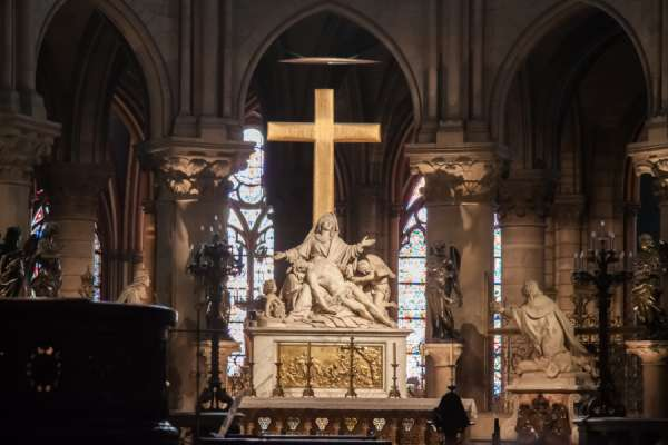 notre dame cathedral to broadcast crown of thorns veneration on good friday Paris, France, Apr 7, 2020 / 07:00 am (CNA).- One year after the world watched the Cathedral of Notre-Dame de Paris burn, the Archbishop of Paris will display the relic of Christ's crown of thorns for veneration during a Good Friday broadcast.