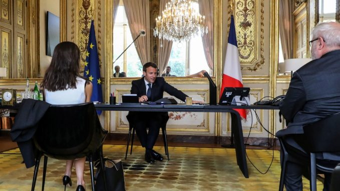 pope and french president discuss response to pandemic By Linda Bordoni