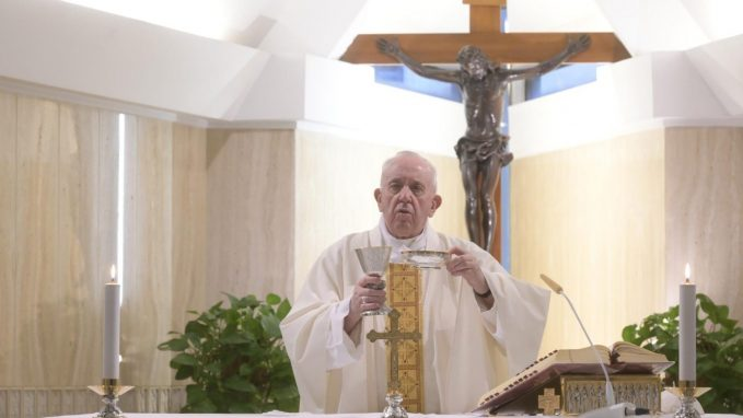 pope prays at mass for those caring for persons with disabilities By Sr Bernadette Mary Reis, fsp