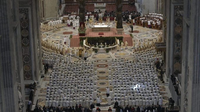 pope to priests of rome promote new life jesus wants to give us By Vatican News