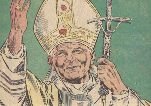 saintly superhero when marvel comics told the life story of john paul ii Denver Newsroom, May 5, 2020 / 02:52 am (CNA).- Pope St. John Paul II, who led the Catholic Church from 1978 until his death in 2005, is perhaps one of the most compelling figures of the 20th century.