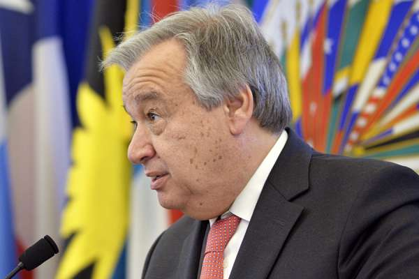 un chief says pandemic should inspire new unity and solidarity Vatican City, May 26, 2020 / 11:00 am (CNA).- U.N. Secretary-General António Guterres said Tuesday that the world needs a response to the coronavirus pandemic based on the protection of human dignity and human rights.
