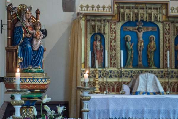 despite the pandemic catholic shrine enjoys biggest pilgrimage season in its history CNA Staff, Jun 5, 2020 / 02:30 am (CNA).- When the coronavirus pandemic gripped England in March, the Catholic National Shrine of Our Lady inWalsingham was forced to close and cancel pilgrimages.