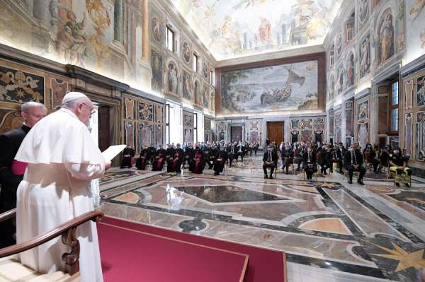 pope francis warns catholics that individualism is illusory Vatican City, Jun 20, 2020 / 06:40 am (CNA).- In the period to follow the coronavirus pandemic, people should remember they are made for communion with others and with God, Pope Francis said Saturday.