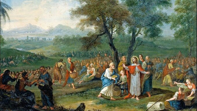 gospel truth eighteenth sunday in ordinary time 2 august 2020 When Jesus heard of the death of John the Baptist,he withdrew in a boat to a deserted place by himself.The crowds heard of this and followed him on foot from their towns.
