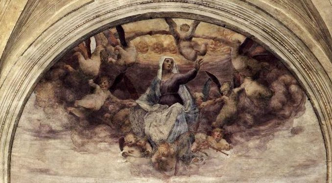 the blessed virgin mary sinless by grace saved by grace assumed by grace Readings:• Rev 11:19a; 12:1-6a, 10ab• Psa 45:10, 11, 12, 16• 1 Cor 15:20-27• Lk 1:39-56
