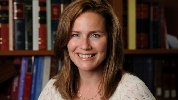 """amy barrett and the relationship between religion and politics During Amy Coney Barrett's confirmation hearing for Seventh Circuit Court of Appeals, held on September 6, 2017, Senator Chuck Grassley posed the following question to the nominee: """"When is it proper for a judge to put their religious views above applying the law?"""""""