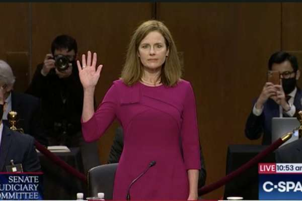 barrett to get senate committee vote oct 22 Washington D.C., Oct 15, 2020 / 11:00 am (CNA).- The Senate Judiciary Committee will vote on advancing Judge Amy Coney Barrett's nomination to the Supreme Court on October 22, Sen. Lindsay Graham announced on Thursday, after three days of hearings with Barrett.