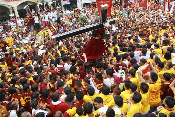 black nazarene procession in philippines canceled over coronavirus CNA Staff, Oct 29, 2020 / 04:15 pm (CNA).- Due to the coronavirus pandemic, civil and ecclesial authorities in the Philippines have agreed to cancel the Black Nazarene celebration in 2021, which gathers millions of churchgoers in Manila each January.