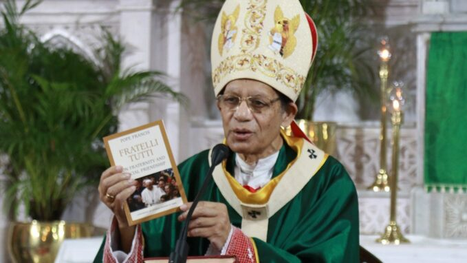 cardinal gracias releases indian edition of fratelli tutti By Robin Gomes