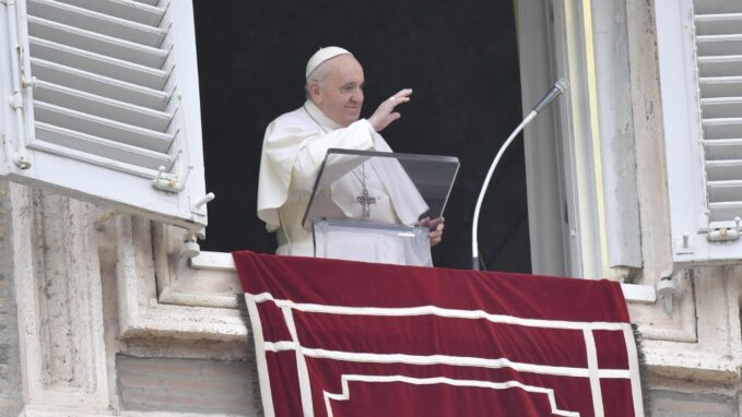 pope at angelus god prepares his wedding banquet for everyone By Devin Watkins