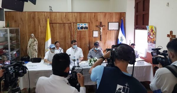 salvadoran diocese calls for dialogue in increased border militarization Washingon — Catholic leaders in northern El Salvador are speaking against the effects of increased government military presence along the country's northern border with Honduras because of how it is affecting the free movement and livelihood of rural communities.