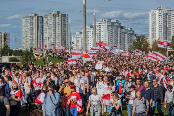 """catholic bishops appeal for peaceful solution to crisis in belarus CNA Staff, Nov 26, 2020 / 04:35 am (CNA).- The Catholic bishops of Belarus appealed Wednesday for a """"peaceful solution"""" to the crisis that has gripped their country since a disputed presidential election in August."""