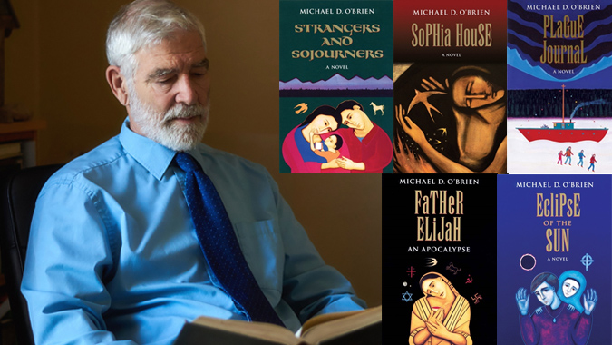 the arts are languages of the soul an interview with michael obrien Iconographer, painter, and writer Michael O'Brien has been a unique creative force for decades. He is the popular author of several best-selling novels, including Father Elijah,Elijah in Jerusalem,The Father's Tale,Eclipse of the Sun,Sophia House,Theophilos,The Fool of New York City, andIsland of the World. His novels have been translated into a dozen languages and widely reviewed in both secular and religious media in North America and Europe. Peter Kreeft, Joseph Pearce, the late Thomas Howard, and many others praise him as one of the finest Catholic novelists writing today.