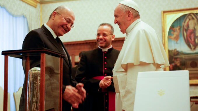 pope francis to visit iraq first apostolic journey in 15 months By Devin Watkins