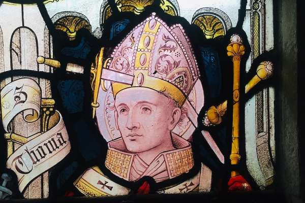 trump praises st thomas becket as martyr for religious freedom CNA Staff, Dec 29, 2020 / 09:57 am (CNA).- The White House on Tuesday issued a proclamation praising St. Thomas Becket, an English archbishop who was martyred 850 years ago after conflict with King Henry II over the rights of the Church.