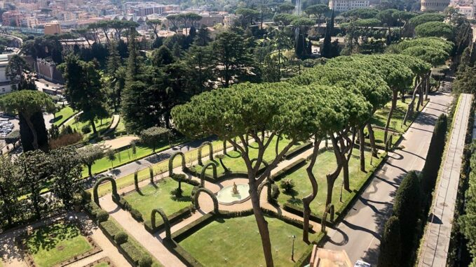 vatican to go green by 2050 By Nicola Gori