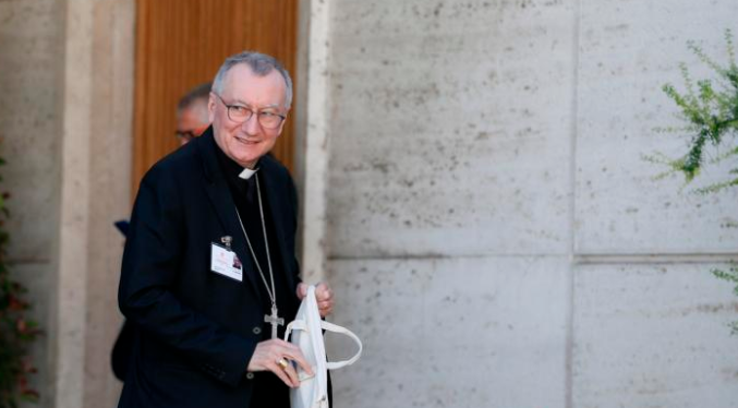 vatican secretary of state knew of investment now under investigation Vatican City, Jan 12, 2021 / 11:57 am (CNA).- A letter by Cardinal Pietro Parolin leaked to an Italian outlet shows that the Secretariat of State was aware, and approved at its highest ranks, of the disgraced purchase of a luxury real estate in London now at the center of a Vatican investigation.