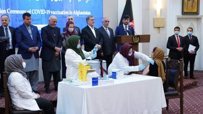 afghanistan begins covid 19 vaccination campaign By Robin Gomes