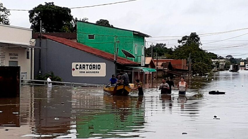 brazil churches open their doors to thousands displaced by floods By Vatican News staff writer