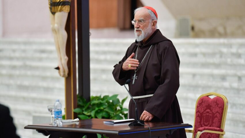 cardinal cantalamessa delivers first sermon for lent 2021 By Vatican News staff reporter
