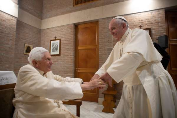 """benedict xvi delighted by year of st joseph proclaimed by pope francis CNA Staff, Mar 31, 2021 / 06:00 am (CNA).- Pope emeritus Benedict XVI has paid tribute to the Year of St. Joseph declared by Pope Francis and urged Catholics to read Francis' apostolic letter Patris corde, describing it as a simple text """"coming from the heart and going to the heart, yet containing such profound depth."""""""