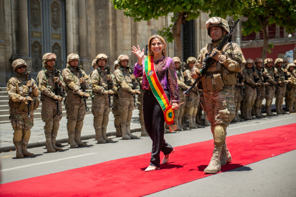 """bolivian bishops decry growing political persecution as ex interim president arrested La Paz, Bolivia, Mar 17, 2021 / 10:04 am (CNA).- The Bolivian Bishops' Conference has denounced the arrest of the former interim president of the country, Jeanine Áñez, on charges of terrorism, sedition, and conspiracy, and called on the new government to """"desist from total control of power, revenge and persecution."""""""