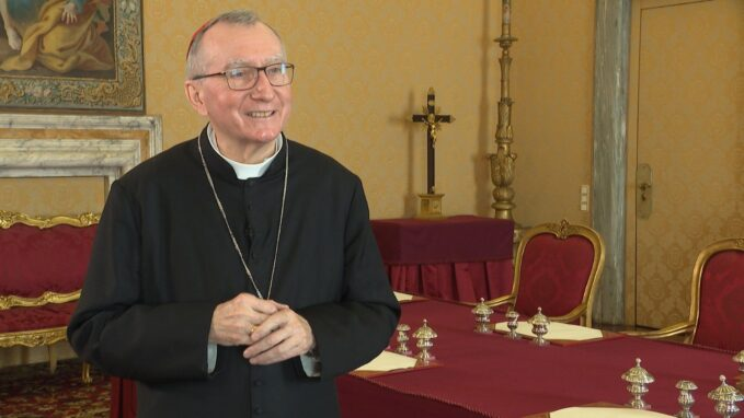 cardinal parolin pope francis visit is sign of closeness to the church in iraq By Fr. Benedict Mayaki, SJ
