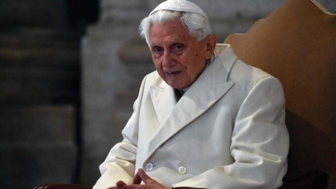 pope emeritus benedict xvi there are not two popes By Vatican News