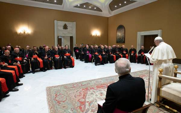 visitation at vaticans liturgy office before cardinal sarahs successor announced Vatican City, Mar 16, 2021 / 05:00 pm (CNA).- An Italian bishop is carrying out a visitation at the Vatican's Congregation for Divine Worship and the Discipline of the Sacraments less than a month after Cardinal Robert Sarah resigned as prefect.