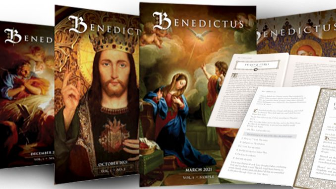 a new companion for the traditional latin mass When a call went out for subscribers for a new Traditional Latin Mass companion publication, the publisher reached its initial goal of 5,000 in less than six weeks. And they are still four months away from mailing the first issue.