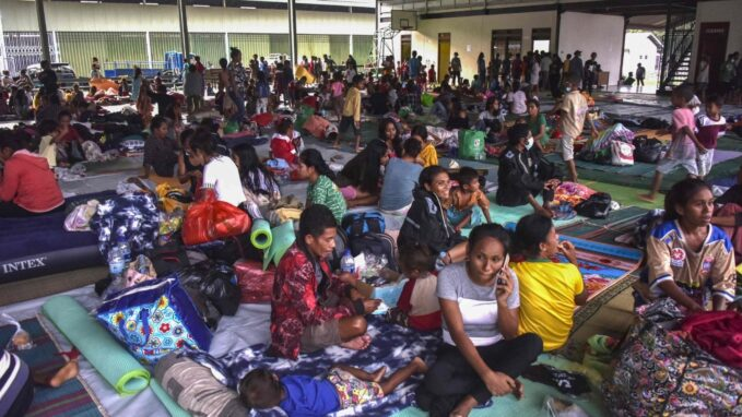 east timor church reaches out to flood victims By Robin Gomes