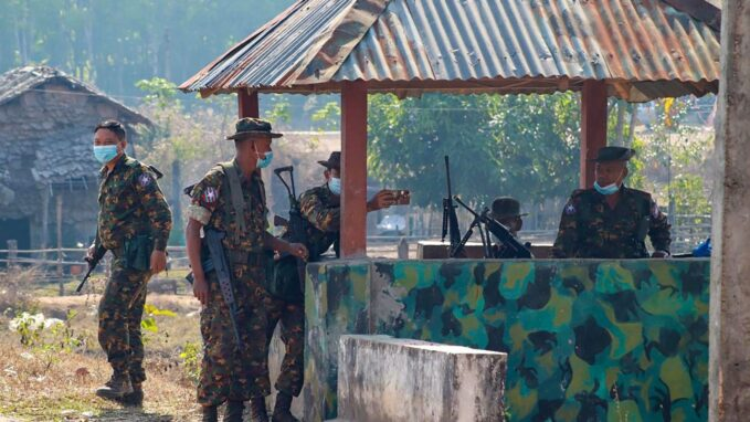 myanmar militarys raids on places of worship deplored By Robin Gomes