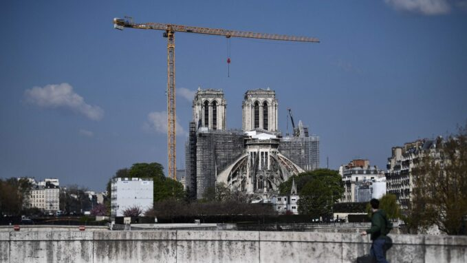 notre dame cathedral on path to its pre fire glory two years on By Vatican News staff writer