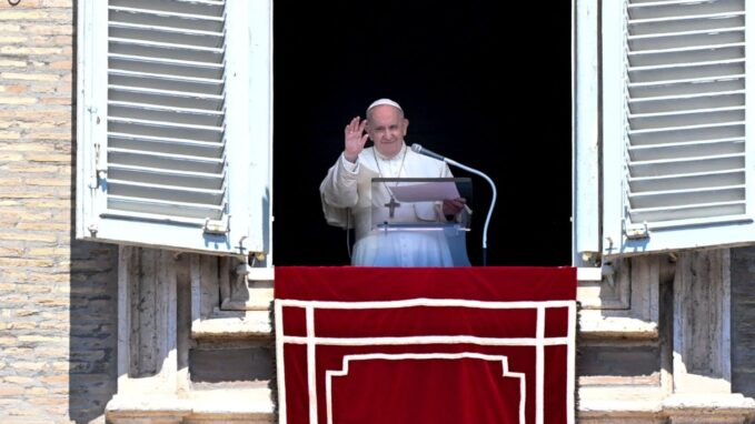 pope at regina coeli jesus defends knows and loves Vatican News staff writer