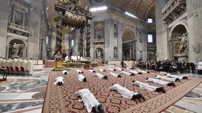 pope francis to ordain nine priests for the diocese of rome By Vatican News staff writer