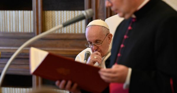 pope prayers said aloud lead the way to god Vatican City — Because prayer is a dialogue with God, people should not dismiss or be embarrassed by saying their prayers out loud or in a whisper, Pope Francis said.