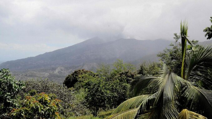 pope prays for evacuees forced to flee la soufriere eruption By Vatican News staff reporter