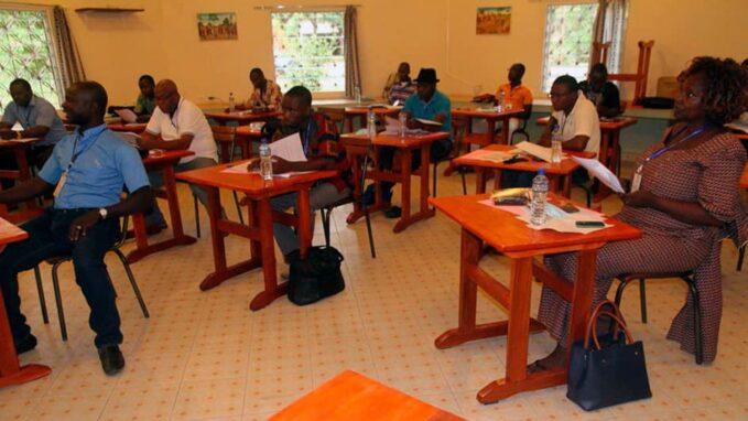 togo radio sainte therese of sokode prioritising training Fr. Moise Dadja– Sokodé, Togo